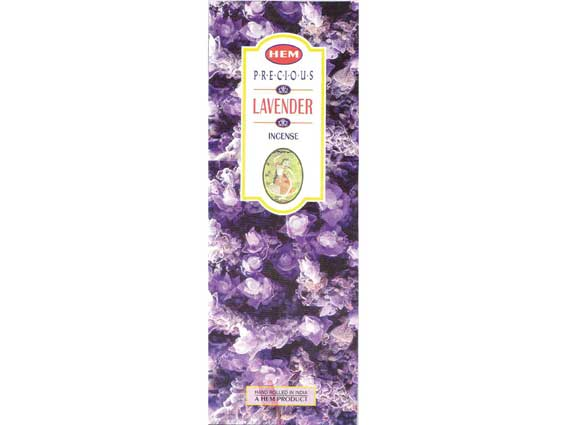 Precious Lavender Hem Incense 25x8g - Click Image to Close